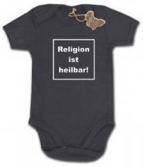 """Zum Babybody """"Religion ist heilbar!"""" für 9,90 € gehen."""