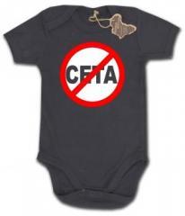 """Zum Babybody """"Stop CETA"""" für 9,90 € gehen."""