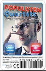 """Zum/zur  Sonstiges """"Populisten Quartett (Spiel)"""" für 7,90 € gehen."""