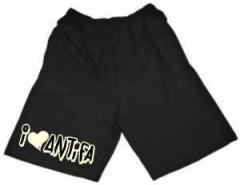 """Zur Shorts """"I <3 Antifa"""" für 22,37 € gehen."""
