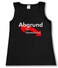 """Zum Woman Tanktop """"Abgrund für Deutschland"""" für 12,00 € gehen."""