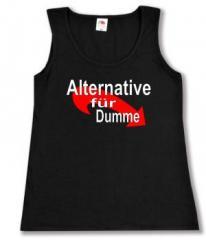 """Zum tailliertes Tanktop """"Alternative für Dumme"""" für 12,00 € gehen."""