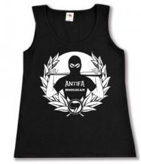 """Zum Woman Tanktop """"Antifa Hooligan"""" für 12,00 € gehen."""