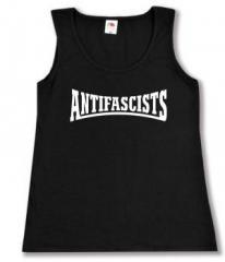 """Zum tailliertes Tanktop """"Antifascists"""" für 11,70 € gehen."""