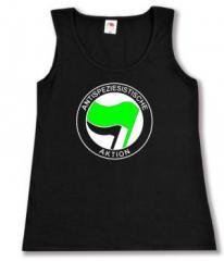 """Zum Woman Tanktop """"Antispeziesistische Aktion (grün/schwarz)"""" für 12,00 € gehen."""