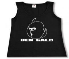 """Zum tailliertes Tanktop """"Ben Galo (Kopf)"""" für 11,70 € gehen."""