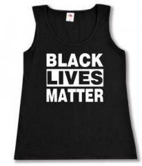 """Zum tailliertes Tanktop """"Black Lives Matter"""" für 12,00 € gehen."""