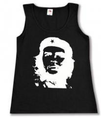 """Zum tailliertes Tanktop """"Che Guevara (weiß/schwarz)"""" für 11,70 € gehen."""