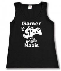 """Zum tailliertes Tanktop """"Gamer gegen Nazis"""" für 12,00 € gehen."""