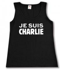 """Zum tailliertes Tanktop """"Je suis Charlie"""" für 12,00 € gehen."""