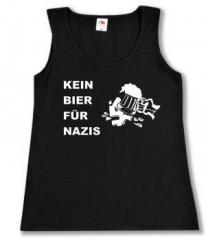 """Zum tailliertes Tanktop """"Kein Bier für Nazis"""" für 12,00 € gehen."""