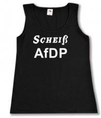 """Zum tailliertes Tanktop """"Scheiß AfDP"""" für 12,00 € gehen."""
