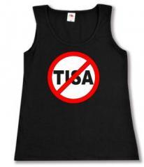 """Zum Woman Tanktop """"Stop TISA"""" für 12,00 € gehen."""