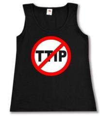"""Zum tailliertes Tanktop """"Stop TTIP"""" für 12,00 € gehen."""