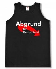 """Zum Tanktop """"Abgrund für Deutschland"""" für 11,70 € gehen."""