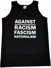 """Zum Man Tanktop """"Against Racism, Fascism, Nationalism"""" für 12,00 € gehen."""