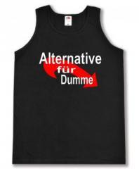"""Zum Man Tanktop """"Alternative für Dumme"""" für 12,00 € gehen."""