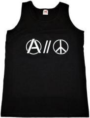 """Zum Tanktop """"Anarchy and Peace"""" für 11,70 € gehen."""