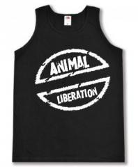 """Zum Man Tanktop """"Animal Liberation"""" für 12,00 € gehen."""