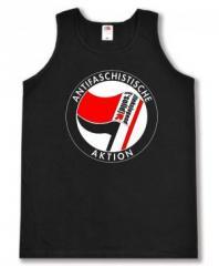 """Zum Tanktop """"Antifaschistische Aktion - linksjugend [´solid]"""" für 16,00 € gehen."""