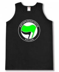 """Zum Man Tanktop """"Antispeziesistische Aktion (grün/schwarz)"""" für 12,00 € gehen."""