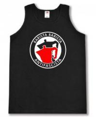 """Zum Man Tanktop """"Barista Barista Antifascista (Moka)"""" für 12,00 € gehen."""