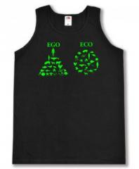 """Zum Man Tanktop """"Ego - Eco"""" für 12,00 € gehen."""