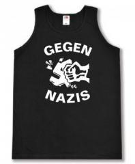 """Zum Man Tanktop """"Gegen Nazis"""" für 12,00 € gehen."""