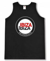 """Zum Man Tanktop """"Ibiza Ibiza Antifascista (Schrift)"""" für 12,00 € gehen."""
