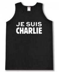 """Zum Man Tanktop """"Je suis Charlie"""" für 12,00 € gehen."""