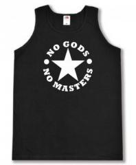 """Zum Man Tanktop """"No Gods No Masters"""" für 12,00 € gehen."""