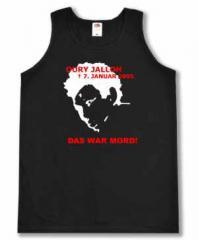 """Zum Man Tanktop """"Oury Jalloh - 7. Januar 2005"""" für 12,00 € gehen."""