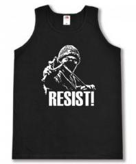 """Zum Tanktop """"Resist!"""" für 12,00 € gehen."""