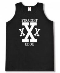 """Zum Man Tanktop """"Straight Edge"""" für 12,00 € gehen."""