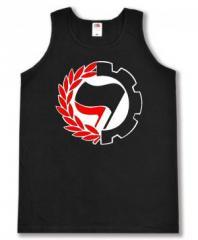 """Zum Man Tanktop """"Working Class Antifa"""" für 12,00 € gehen."""