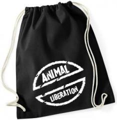 """Zum Sportbeutel """"Animal Liberation"""" für 8,00 € gehen."""