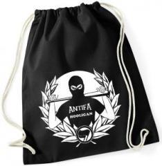 """Zum Sportbeutel """"Antifa Hooligan"""" für 11,00 € gehen."""