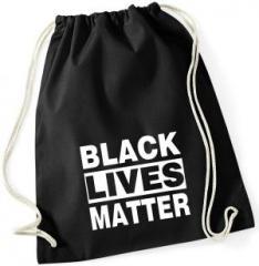 """Zum Sportbeutel """"Black Lives Matter"""" für 8,00 € gehen."""