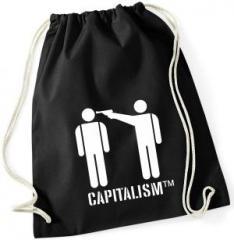 """Zum Sportbeutel """"Capitalism [tm]"""" für 8,00 € gehen."""