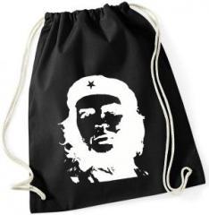 """Zum Sportbeutel """"Che Guevara (weiß/schwarz)"""" für 7,80 € gehen."""