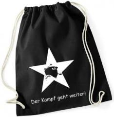 """Zum Sportbeutel """"Der Kampf geht weiter!"""" für 7,80 € gehen."""