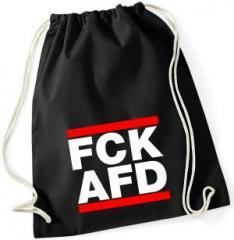 """Zum Sportbeutel """"FCK AFD"""" für 7,80 € gehen."""