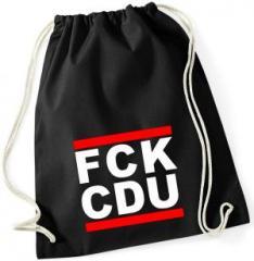 """Zum Sportbeutel """"FCK CDU"""" für 8,00 € gehen."""