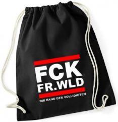 """Zum Sportbeutel """"FCK FR.WLD"""" für 7,80 € gehen."""