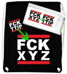 """Zum Sportbeutel """"FCK XYZ"""" für 14,62 € gehen."""