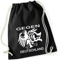"""Zum Sportbeutel """"Gegen Deutschland"""" für 8,00 € gehen."""