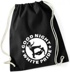 """Zum Sportbeutel """"Good night white pride (HC)"""" für 7,80 € gehen."""