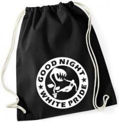 """Zum Sportbeutel """"Good night white pride - Pflanze"""" für 7,80 € gehen."""