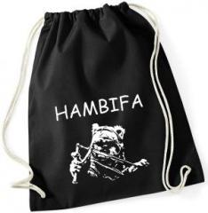 """Zum Sportbeutel """"Hambifa"""" für 8,00 € gehen."""
