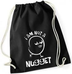 """Zum Sportbeutel """"I am not a Nugget"""" für 8,00 € gehen."""